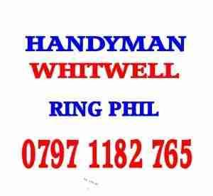 HANDYMAN WHITWELL