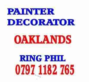 painter decorator Oaklands