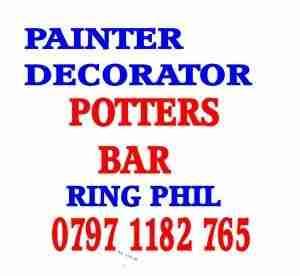 painter decorator potters bar