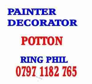 painter decorator potton