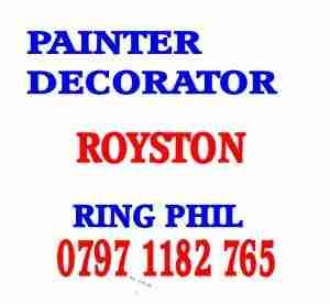 painter decorator Royston