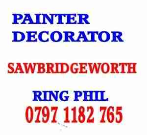 painter decorator Sawbridgeworth