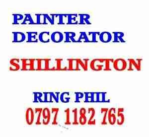 painter decorator Shillington