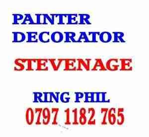 painter decorator Stevenage