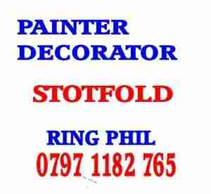 painter decorator Stotfold