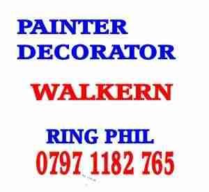 painter decorator Walkern