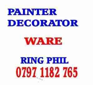 painter decorator ware